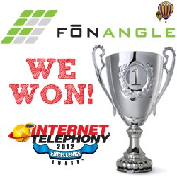 VoIP PBXs provider FonAngle receives excellence award